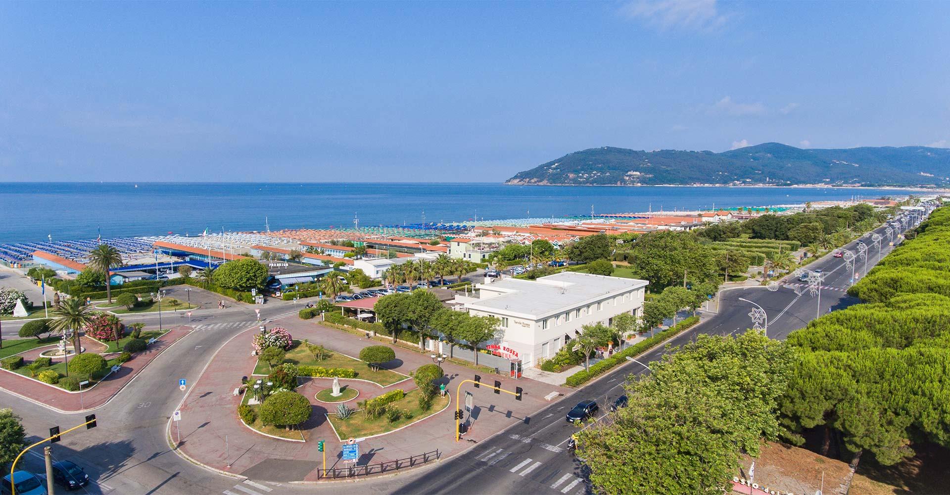 Hotel Tenda Rossa 3 stars in Marina di Carrara